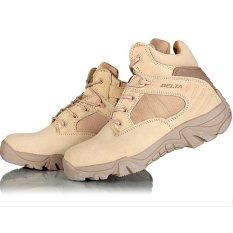 Spesifikasi Delta Sepatu Army Tracking Shoes Tactical Pendek Coklat Beserta Harganya
