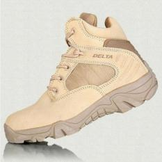 Toko Delta Sepatu Army Tracking Shoes Tactical Pendek Coklat Online Terpercaya
