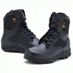 Beli Delta Sepatu Cordura Tracking Shoes Black Online Terpercaya