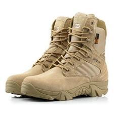 Promo Delta Sepatu Tactical Boots 8 Desert Tan Akhir Tahun