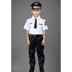 Denai Store - Seragam Profesi Untuk Anak TK Dan SD /Baju Karnaval Anak / Polisi / Polwan / Angaktan Udara (AU) / Angkatan Laut (AL) / AKABRI / AKPOL / TNI / ABRI / Pemadam Kebakaran (DAMKAR) / Pilot / Koki / Astronot /Untuk Anak 2 sampai 8 Tahun
