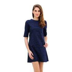 Jual Denim Inc Priscillia 2 465 Dress Navy Denim Inc Online