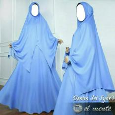 Denim Set Syar'i El Mente