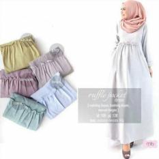 Desta Maxi/Maxi Balotelli/Gamis Baloteli/Gamis Syari Polos/Baju Muslim Wanita/Dress Ibu Muslim