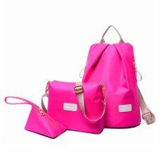 Vicria Tas Ransel Branded Wanita - High Quality Korean Elegant Nylon Bag Style 3in1 TR2172 -