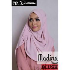 Jual Detisan Hijab Insatn Madina Blush Detisan Online