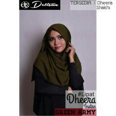 Toko Detisan Hijab Instan Dheera Lipat Hijau Army Di Jawa Barat