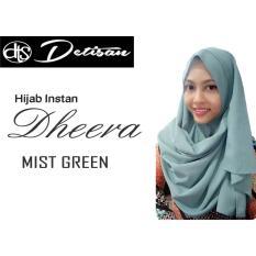 Toko Detisan Hijab Instan Dheera Mist Green Murah Di Jawa Barat
