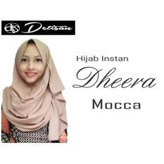 Daftar Harga Detisan Hijab Instan Dheera Mocca Hijab