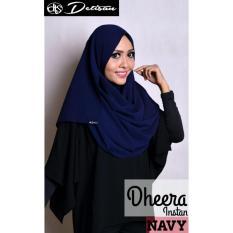 Jual Detisan Hijab Instan Dheera Navy Detisan Murah