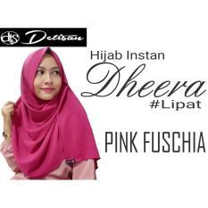 Berapa Harga Detisan Hijab Instan Dheera Pink Fuschia Di Jawa Barat