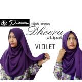 Pusat Jual Beli Detisan Hijab Instan Dherra Violet Jawa Barat
