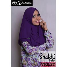 Situs Review Detisan Hijab Instan Shakhi Violet