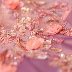 Jual Dewi Ungu Mawar Bunga Bh Baju Pelayanan Mempelai Wanita Gaun Pengantin Gaun Merah Muda Warna Baju Wanita Dress Wanita Gaun Wanita Branded Murah