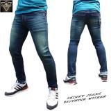 Harga Dfs 15Denim Celana Jeans Skinny Slimfit Pensil Pria Biothink Wisker Terbaru