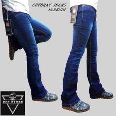 Toko Dfs Celana Jeans Denim Cutbray Pria Biowash Spray Lengkap Jawa Barat