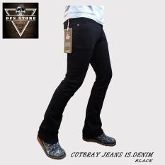 Diskon Dfs Celana Jeans Denim Cutbray Rpia Hitam Akhir Tahun