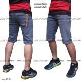 Jual Dfs 15Denim Celana Jeans Denim Skinny Slimfit Pensil Pendek Pria Grey Branded