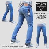 Beli Dfs Celana Jeans Denim Skinny Slimfit Pensil Pria Bioblits Spray Pake Kartu Kredit