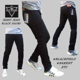 Jual Beli Dfs Celana Jeans Denim Skinny Slimfit Pensil Pria Hitam Naomi Di Jawa Barat
