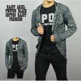 Harga Dfs Hoodie Jaket Sweater Jumper Rajut Knite Premium Pria Black Twoton Jawa Barat