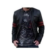 DG's Jaket Semi Kulit Wolverine Black