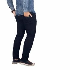 Dgm_Fashion1 Celana Jeans Panjang Hitam Polos /Celana lepis/Celana Jeans Skinny Pria/Celana Panjang/ Celana Pria/Celana Casual/celana denim/celana jeans hitam/jeans polos /CELANA JEANS PENSIL JS 2009 Hitam
