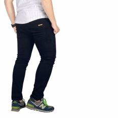 Dgm_Fashion1 Celana Jeans Panjang Hitam Polos Pensil /Celana lepis/Celana Jeans Skinny Pria/Celana Panjang/ Celana Pria/Celana Casual/celana denim/celana jeans hitam/jeans polos /CELANA JEANS PENSIL JS 2007 Hitam