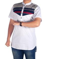 Dgm_Fashion1 Kemeja Polos Long Line/ Kemeja Young Lex/Kemeja Coco/Kemeja Muslim/Baju Coco/Kemeja Flanel/Flanel Woll/Kemja Men/Kemeja Casual/Kemeja Distro/Kemeja Pantai/Kemeja Formal/Kemeja Pria/Kemeja Polos/Kemeja Batik PN 5390 Putih