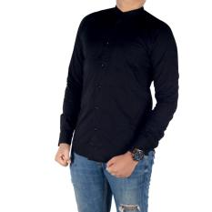 Dgm_Fashion1 Kemeja Navy Polos Combinasi Tribal Pendek/ Kemeja Polos/Kemeja Casual/Kemeja Hitam/Kemeja denim/kemeja formal/kemeja flanel/Kemeja jeans/Kemeja kantoran/kemeja pantai/kemeja pria/Kemeja Distro/Kemeja HEM/Kemeja PX 4710 Hitam