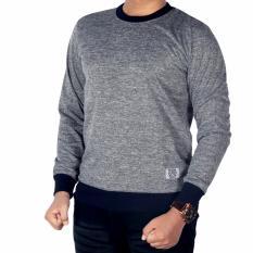 Promo Dgm Fashion1 Sweater Polos Abu Murah Sweater Polos Rip Sweater Pria Rajut Sweater Polos Oblong Sweater Pria Sweater Polos Pria Kaos Polos Lengan Panjang Gx 5312 Abu Abu