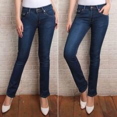 Promo Dhaf Collection Celana Jeans Wanita Reguler Standar Lurus I N Murah Murah