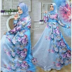 Dhala Baju Muslim Dress Gamis Maxi Pesta Anggraini - Tersedia 4 Warna