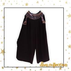 Dhee Celana Kulot Babat All size - [Black]