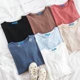 Ulasan Mengenai T Shirt Tank Top Yang Bisa Dipadukan Pakaian Luar Ok Warna Retro Hitam