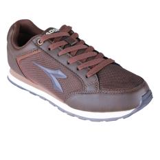 Harga Diadora Dante Sepatu Sneakers Pria Brown Asli
