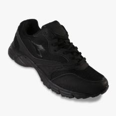 Jual Diadora Ennio Unisex Running Shoes Hitam Murah Di Indonesia