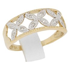 Jual Beli Diamondku Cincin Berlian Dr2679 9Yg Gold Baru Indonesia