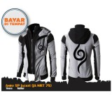 Digizone Jaket Anime Hoodie Double Zipper Anbu Naruto Ja Nrt 75 Grey Original