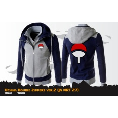 Harga Digizone Jaket Anime Hoodie Double Zipper Naruto Uchiha Clan Ver 2 Ja Nrt 27 Best Seller Gray Navy Murah