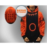 Beli Digizone Jaket Anime Hoodie Sweater Naruto Rikudou Kyuubi Jf Nrt 03 Best Seller Orange Black Terbaru
