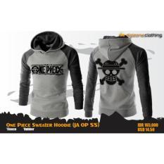 Digizone Jaket Anime Hoodie Sweater One Piece Ja Op 55 Best Seller Grey Indonesia Diskon 50