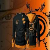 Jual Digizone Jaket Anime Hoodie Zipper Harajuku Naruto Kyuubi Seal Ja Nrt 60 Best Seller Black Murah Indonesia