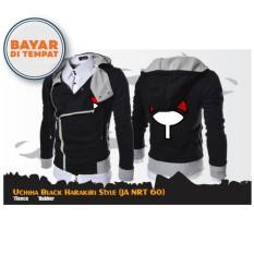 Toko Digizone Jaket Anime Hoodie Zipper Harakiri Naruto Uchiha Ja Nrt 60 Black Terlengkap Di Indonesia