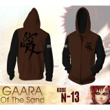 Promo Digizone Jaket Anime Hoodie Zipper Naruto Garaa Of The Sand Ja N 13 Best Seller Brown Black Indonesia