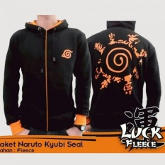Harga Digizone Jaket Anime Hoodie Zipper Naruto Kyuubi Seal Ja Nrt 18 Best Seller Black Original