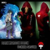 Review Digizone Jaket Anime Hoodie Zipper Naruto Sasuke Clan Uchiha Ja Nrt 35 Best Seller Maroon Black Terbaru