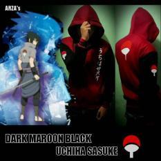Ulasan Lengkap Digizone Jaket Anime Hoodie Zipper Naruto Sasuke Clan Uchiha Ja Nrt 35 Best Seller Maroon Black