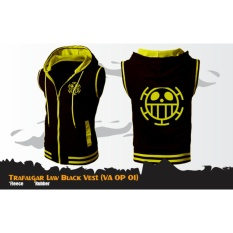 Digizone Jaket Anime Hoodie Zipper Rompi One Piece Trafalgar Law Va Op 01 Best Seller Black Di Indonesia