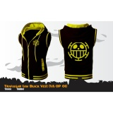 Jual Beli Online Digizone Jaket Anime Hoodie Zipper Rompi One Piece Trafalgar Law Va Op 01 Best Seller Black